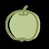 Icono de una manzana que simboliza el servicio de comedor en enDARA.