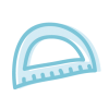 Icono de un transportador de ángulos que simboliza la educación y aprendizaje en enDARA.